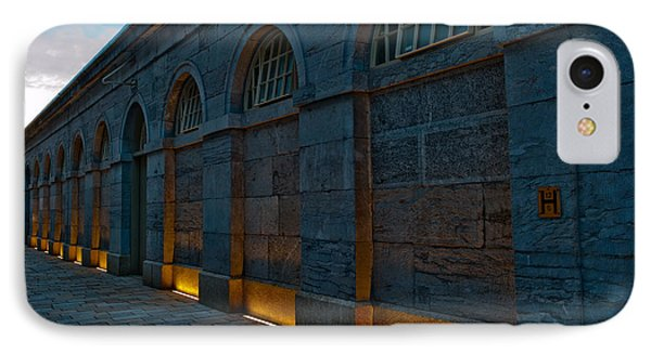 Illuminated Arches IPhone Case by Helen Northcott
