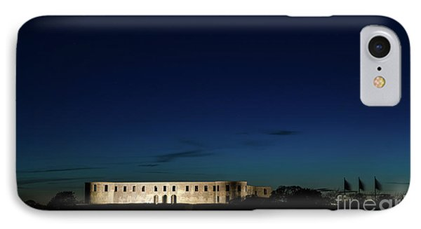 IPhone Case featuring the photograph Illuminated Castle Ruin by Kennerth and Birgitta Kullman