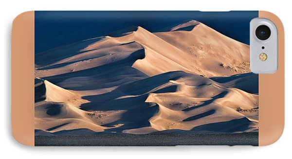 Illuminated Sand Dunes IPhone Case by Alana Thrower