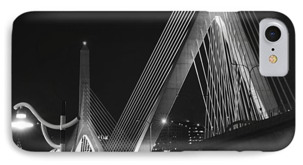 Illuminating Boston Black And White IPhone Case by Toby McGuire
