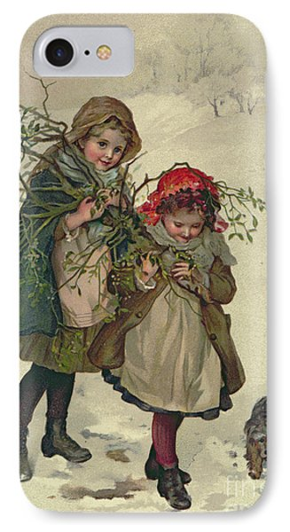Illustration From Christmas Tree Fairy IPhone Case by Lizzie Mack