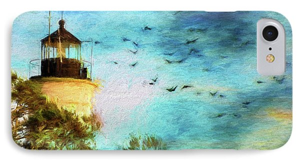 IPhone Case featuring the photograph I'm Here To Watch You Soar II by Jan Amiss Photography