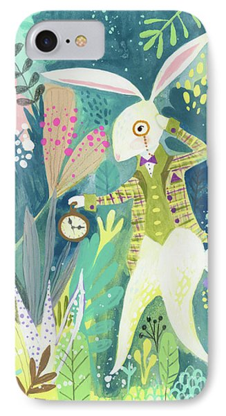 I'm Late IPhone Case by Kate Cosgrove