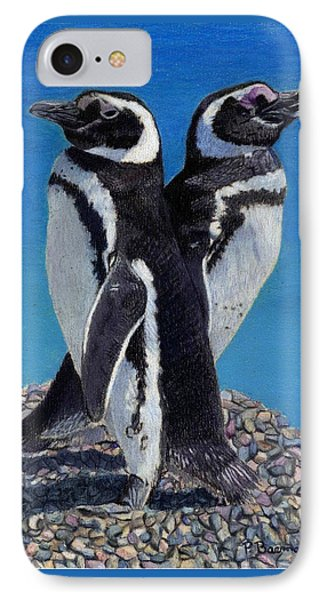 I'm Not Talking To You - Penguins IPhone Case