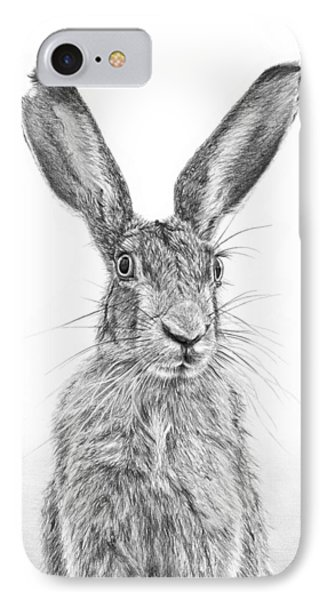 I'm Over Hare IPhone Case by Frances Vincent