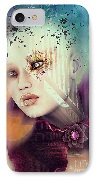 IPhone Case featuring the digital art Imagination by Jutta Maria Pusl
