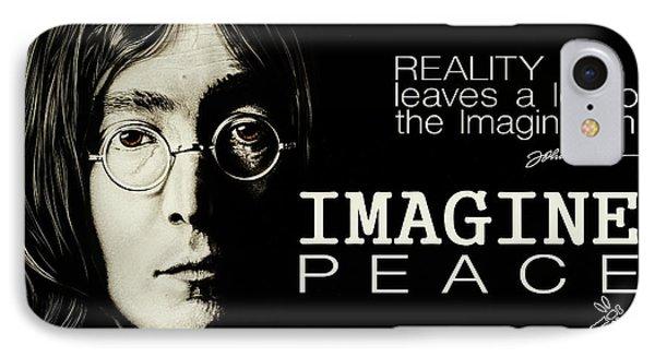 Imagine Peace- John Lennon IPhone Case