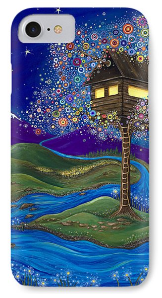 IPhone Case featuring the painting Imagine by Tanielle Childers