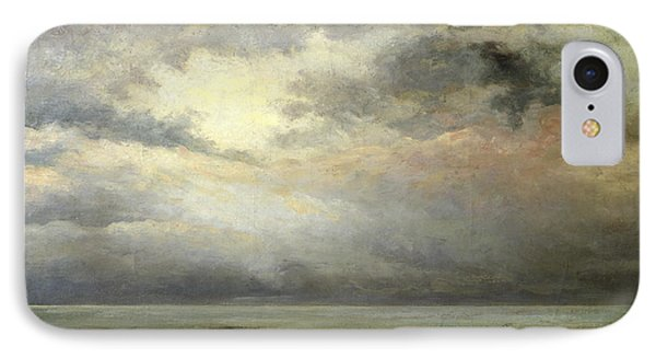 Immensity IPhone Case by Gustave Courbet