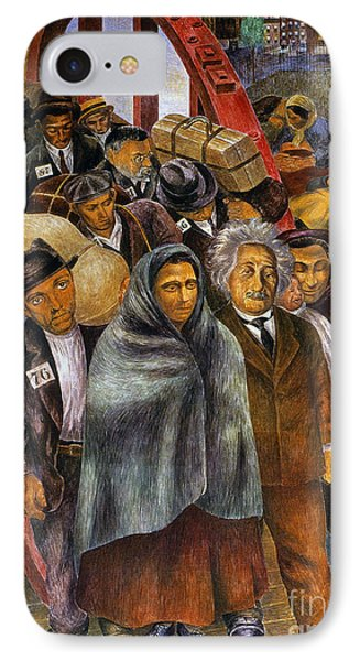 Immigrants, Nyc, 1937-38 Phone Case by Granger