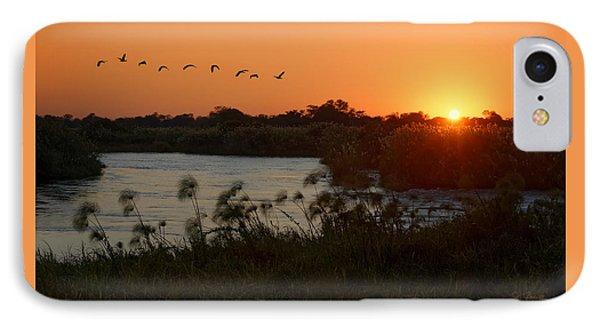 Impalila Island Sunrise IPhone Case by Joe Bonita