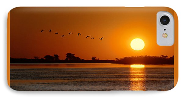 Impalila Island Sunset No. 1 IPhone Case by Joe Bonita