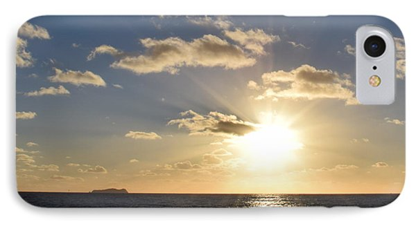 Imperial Beach Sunset Reflection IPhone Case by Karen J Shine