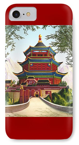Imperial Palace Phone Case by Melissa A Benson