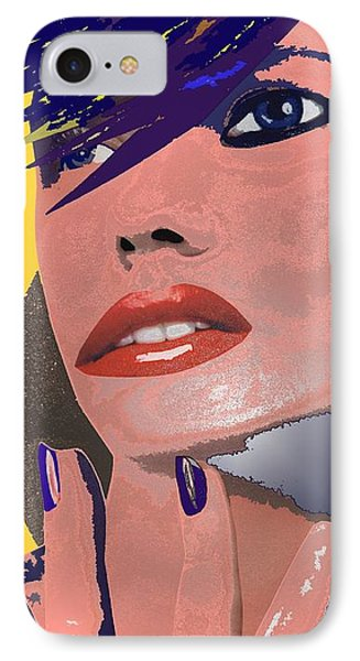 IPhone Case featuring the painting Impossible Dream by Sheila Mcdonald