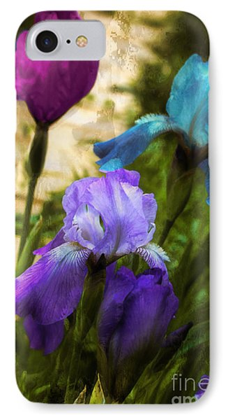Impossible Irises IPhone Case by Mindy Sommers