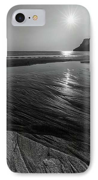 IPhone Case featuring the photograph Impression From Talisker Beach by Davorin Mance