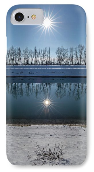 IPhone Case featuring the photograph Impression Of Reflection by Davorin Mance