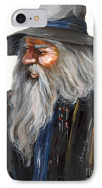 Impressionist Wizard IPhone 7 Case by J W Baker