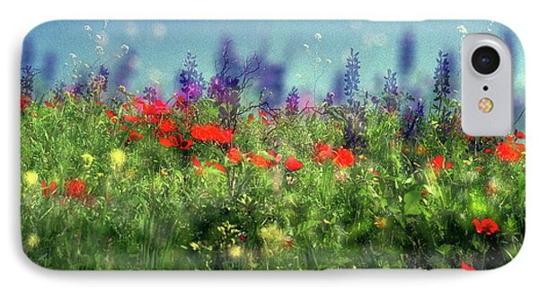 Impressionistic Springtime IPhone 7 Case by Dubi Roman