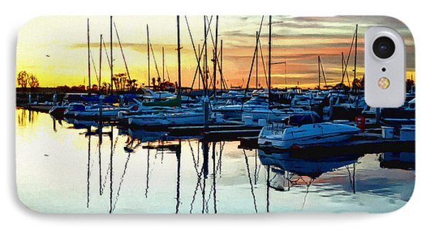 IPhone Case featuring the photograph Impressions Of A San Diego Marina by Glenn McCarthy Art and Photography