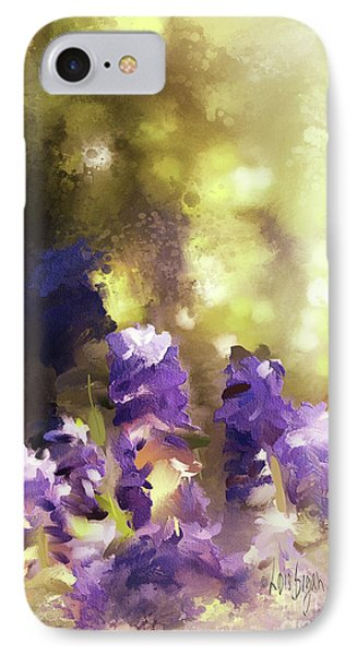 Impressions Of Muscari IPhone Case by Lois Bryan