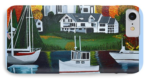 Impressions Of New England Two IPhone Case by Donna Blossom