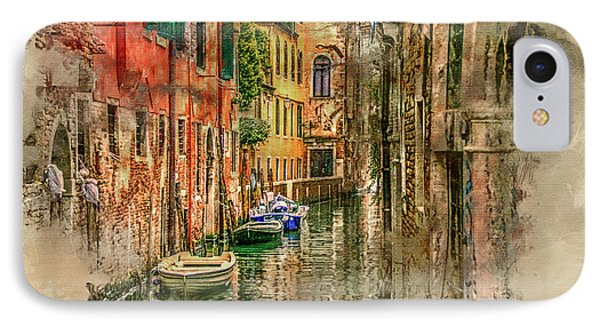 Impressions Of Venice Phone Case by Brian Tarr