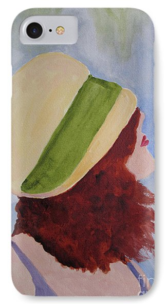 IPhone Case featuring the painting In A Breeze by Sandy McIntire