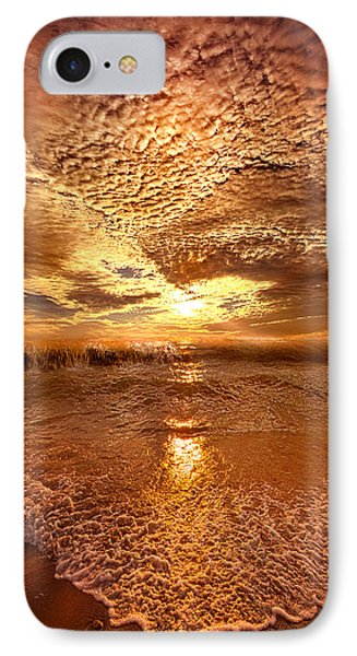 In A Moment Or Two IPhone Case by Phil Koch