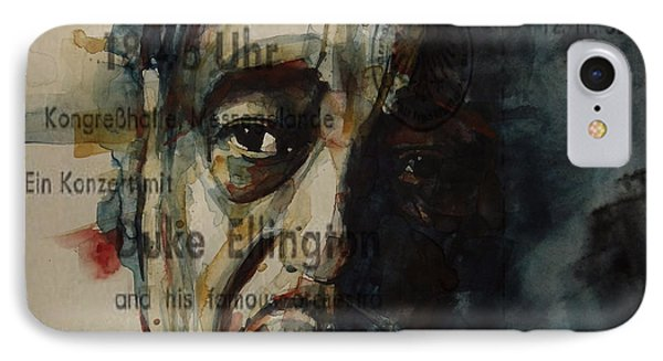 In A Sentimental Mood Duke Ellington IPhone Case by Paul Lovering
