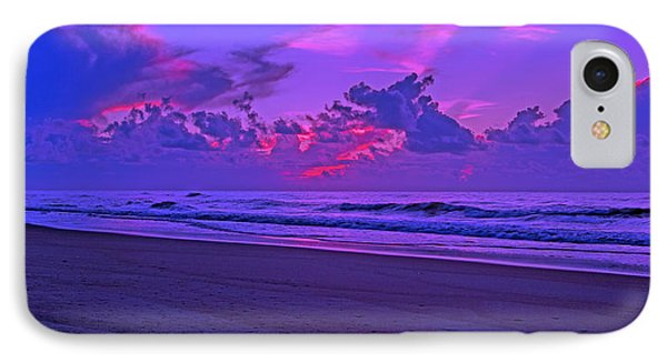 In All Its Brilliance Topsail Island IPhone Case by Betsy Knapp