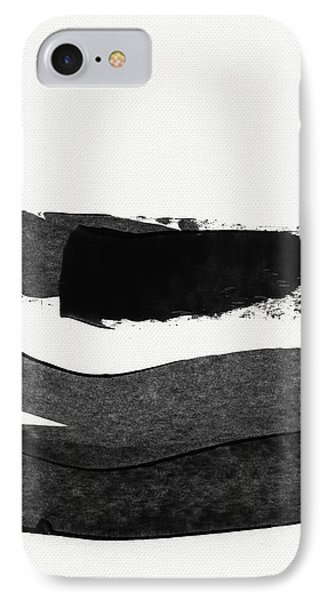 In Between Stage- Abstract Art By Linda Woods IPhone Case