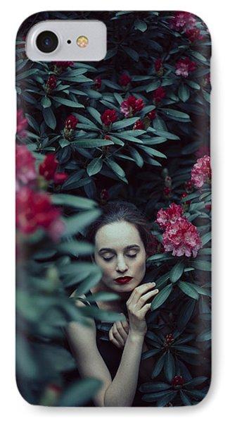 In Bloom II IPhone Case by Art of Invi