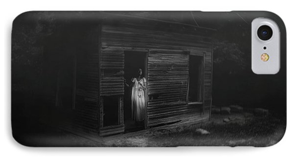 In Fear She Waits IPhone Case by Tom Mc Nemar