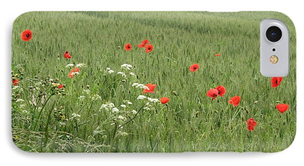 in Flanders Fields the  poppies blow IPhone Case