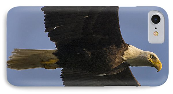 IPhone 7 Case featuring the photograph In Flight by Gary Lengyel