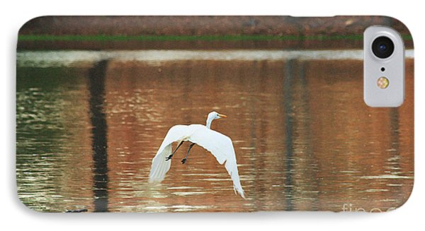 IPhone Case featuring the photograph In Flight by Kim Henderson