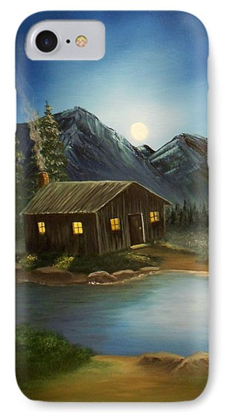 In For The Night IPhone Case by Sheri Keith