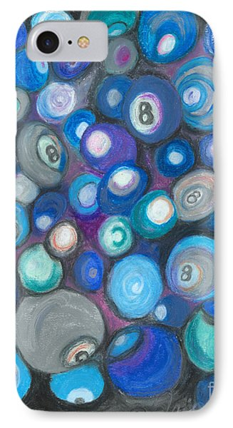 In Front Of The 8 Ball IPhone Case by Ania M Milo