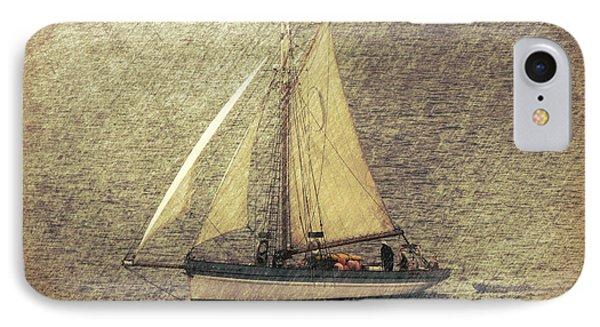 In Full Sail IPhone Case by Lynn Bolt