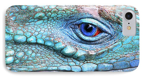 In His Eye IPhone Case by Iryna Goodall
