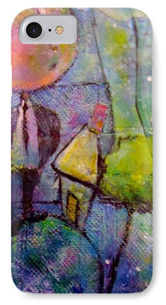 In His World IPhone Case by Eleatta Diver
