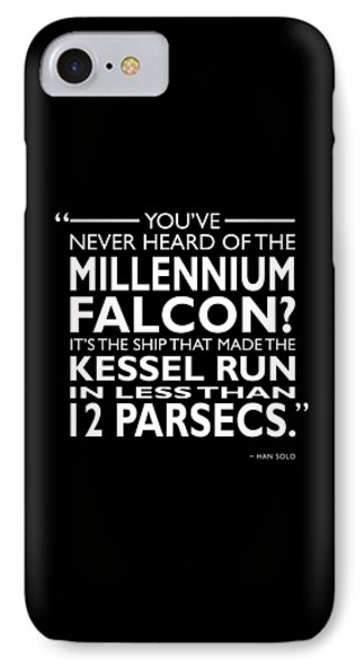 In Less Than 12 Parsecs IPhone Case by Mark Rogan