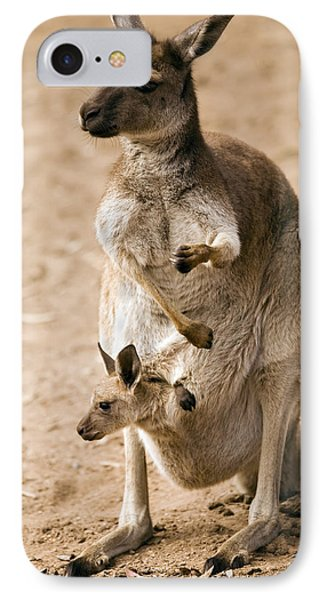 In  Mother's Care IPhone Case