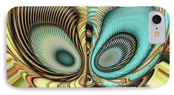 IPhone Case featuring the digital art In My Head by Wendy J St Christopher