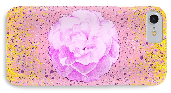 In Pink IPhone Case by Helena Tiainen