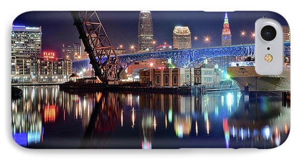 In Port For Winter Panorama IPhone Case