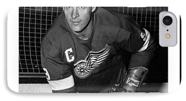 In Remembrance Of Gordie Howe  IPhone Case by Pd