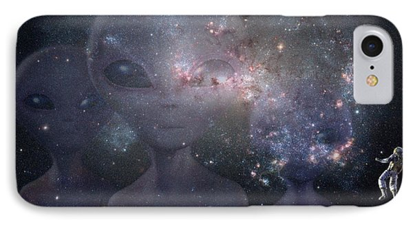 In Space IPhone Case by Thomas M Pikolin